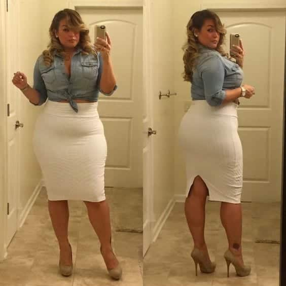 Fashionable Outfits For Plus Size Ladies (18)