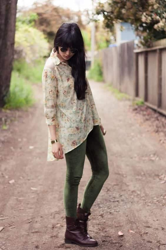 How To Wear Velvet Leggings 18 Cute Outfits With Velvet