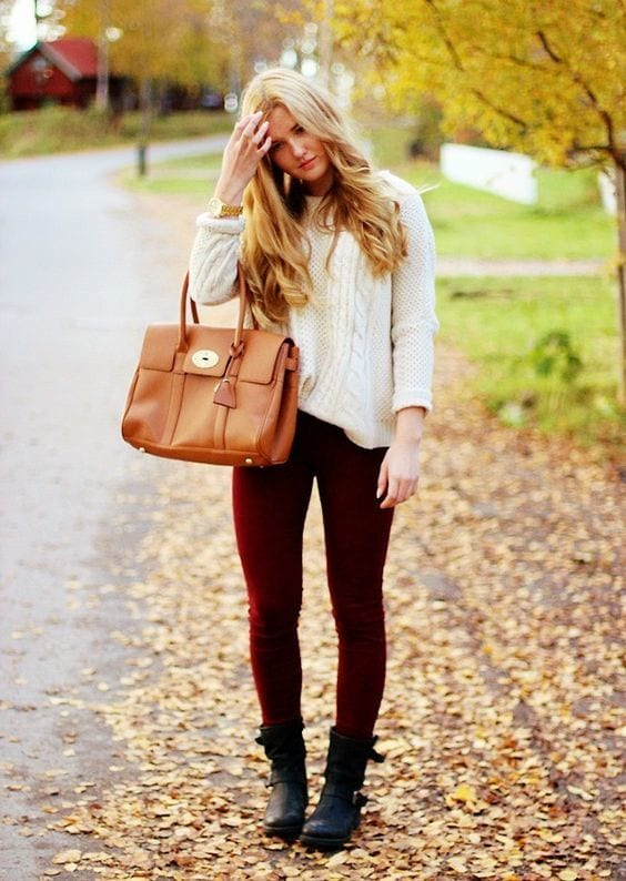 Outfits with Velvet Leggings (6)