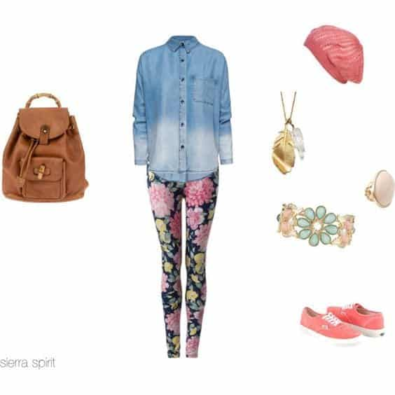 chic outfits for first day of college (14)