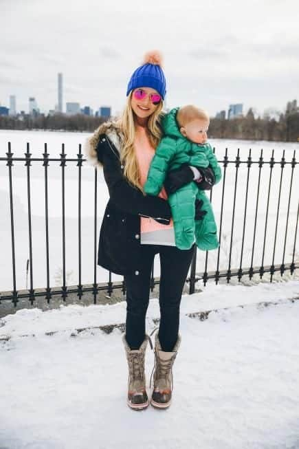 what to wear with snow boots girls women (22)