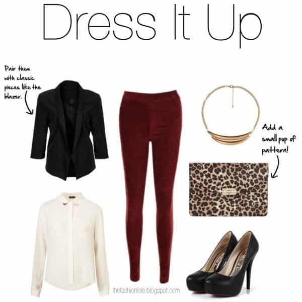 Outfits with Velvet Leggings (12)