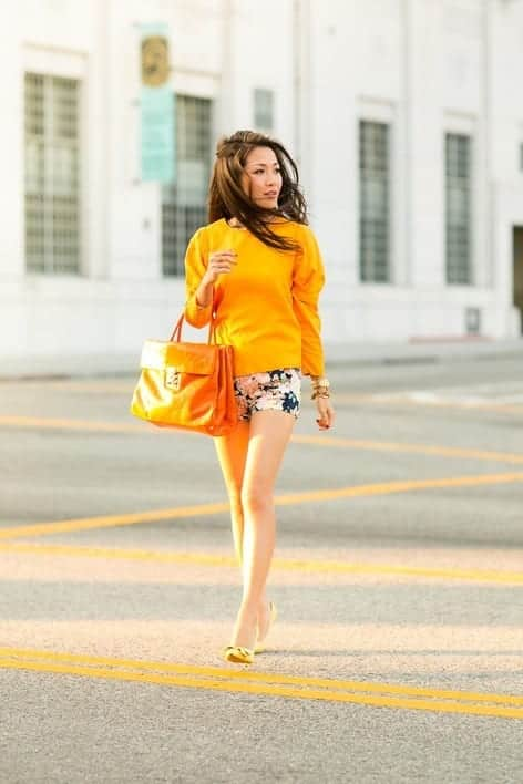 Outfits with floral shorts (25)