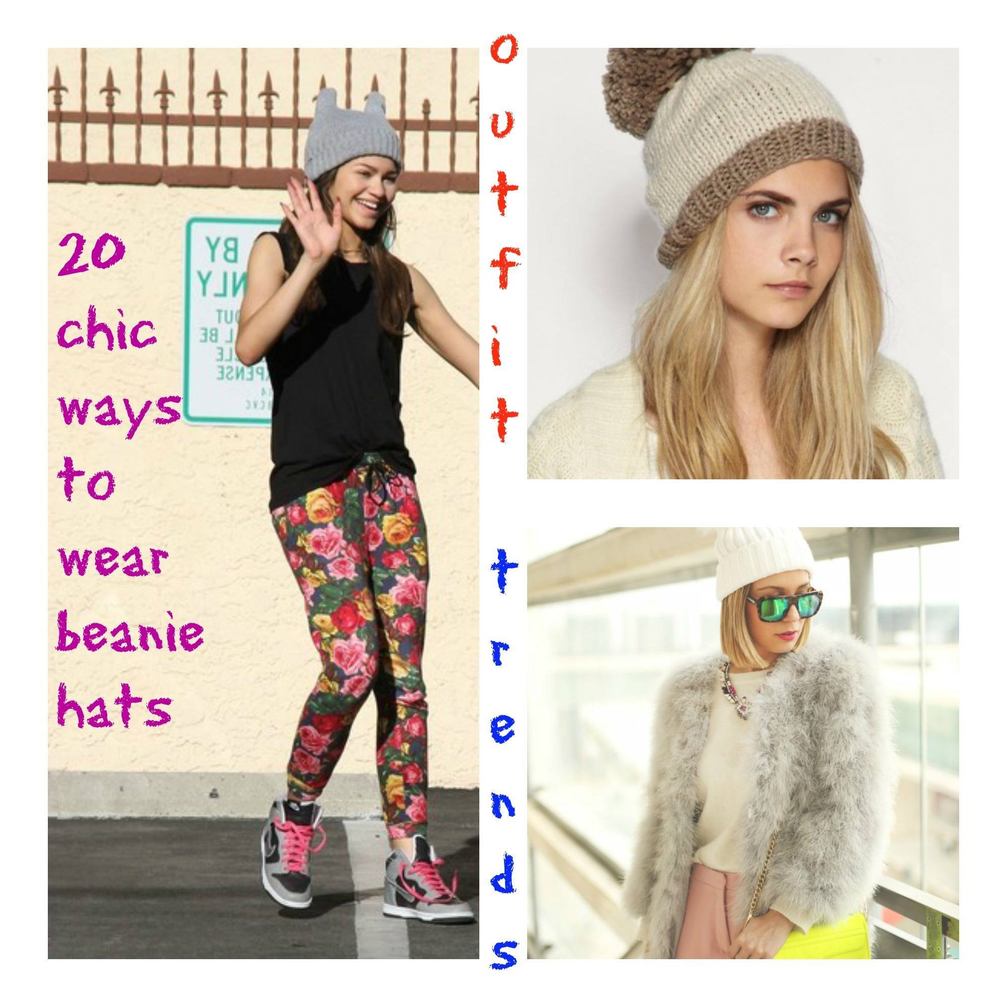 beanie hat outfit ideas
