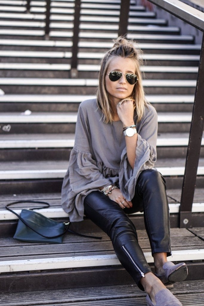 Outfits with flared sleeves (20)