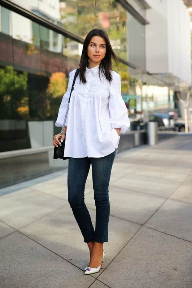 Outfits with flared sleeves (7)