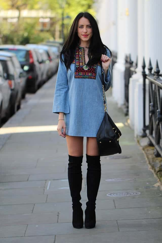 Outfits with flared sleeves (1)