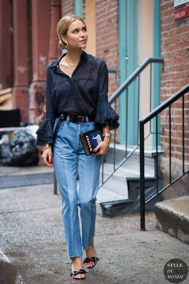 Outfits with flared sleeves (26)