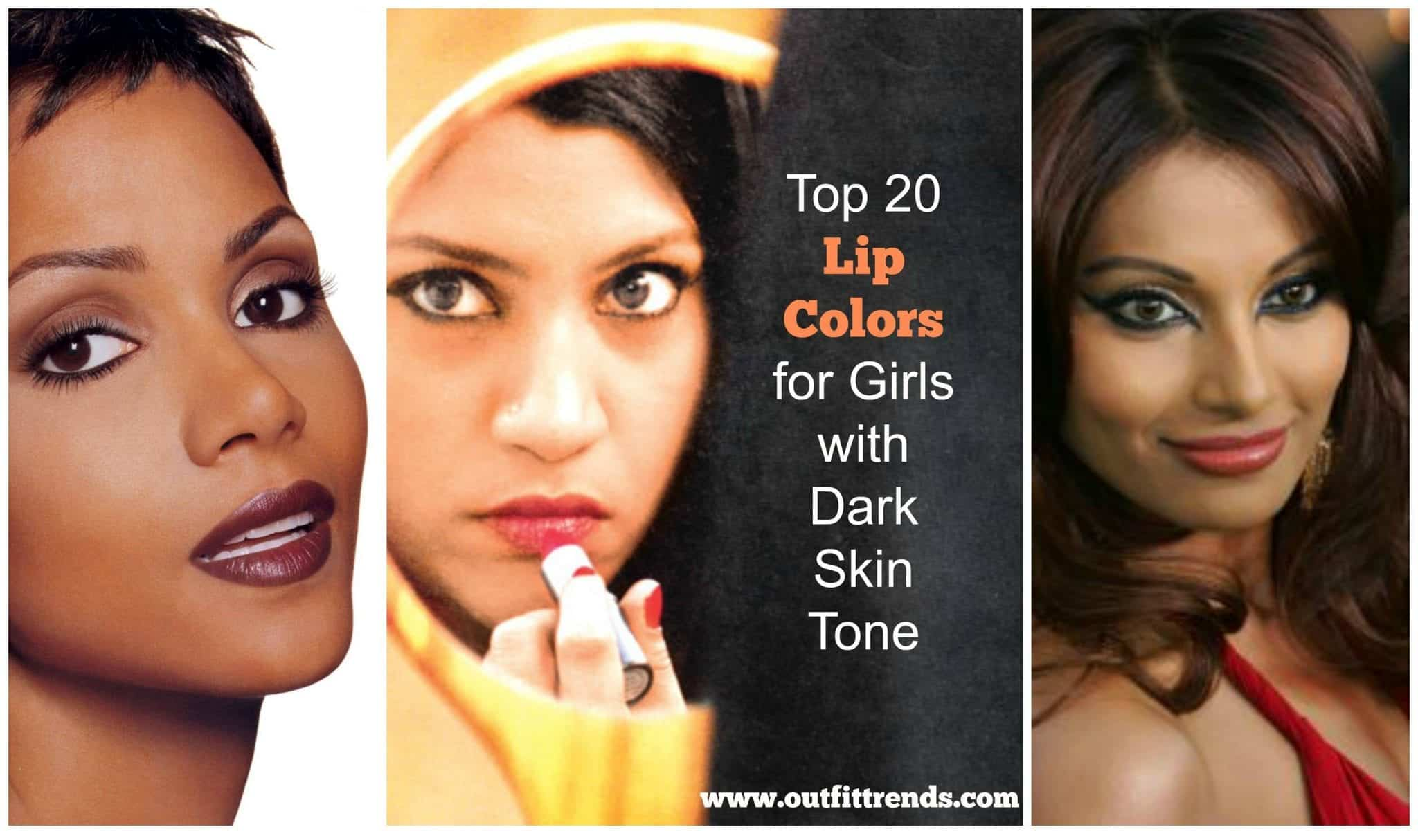 20 Best Lipstick Shades For Girls With Dark Skin Tone