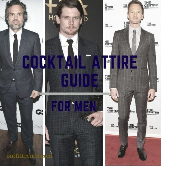 Cocktail Outfits for Men 30 Tips Learnt from Celebrities