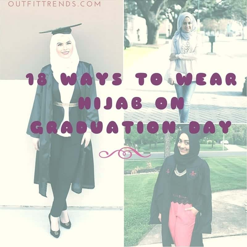008cb0f48588 Hijab Graduation Outfit-18 Ways to Wear Hijab on Graduation Day