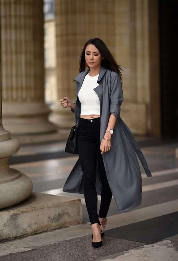 Stylish Ways to Wear Black Denim (14)