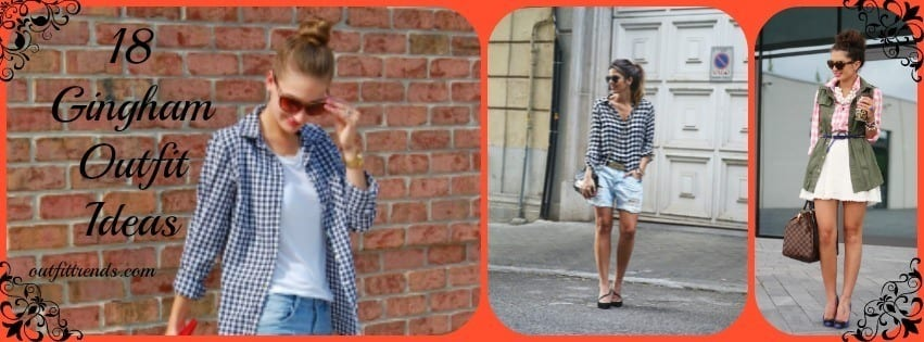ladies gingham outfits (1)