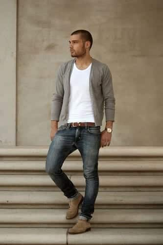 Cardigan Outfits For Guys-19 Ways To Wear Cardigans Stylishly