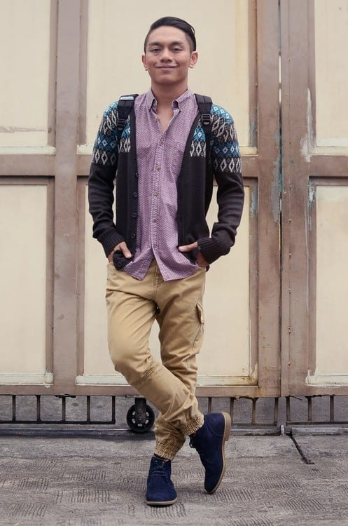 men's fashion with cardigans (4)