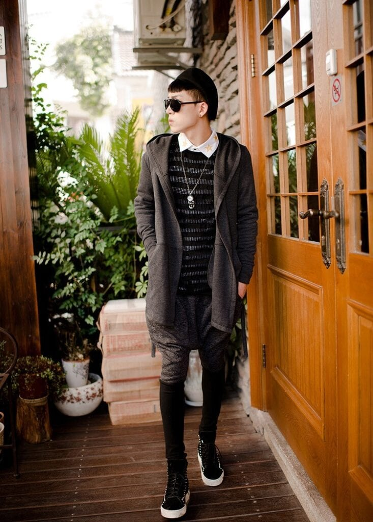 men's fashion with cardigans (3)