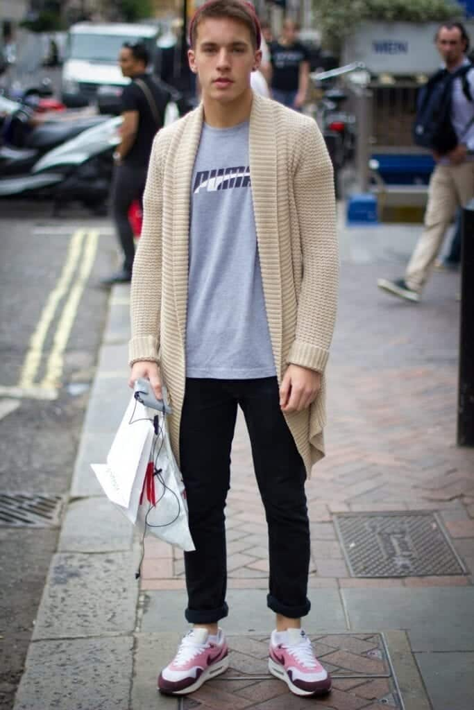 men's fashion with cardigans (14)