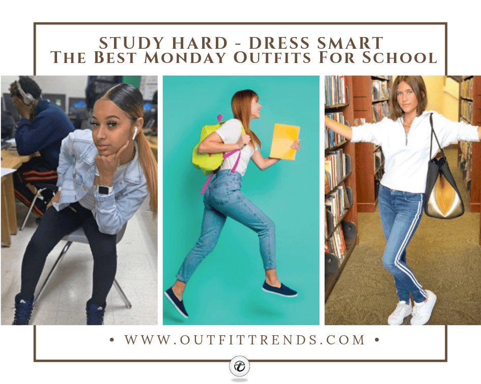 Monday Outfit Ideas For School-18 Dressing Options For Girls