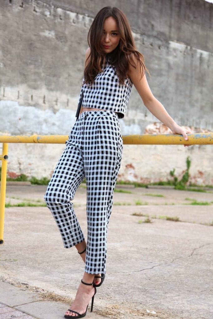 ladies gingham outfits (11)