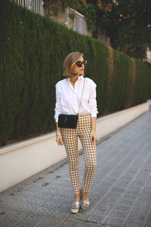 ladies gingham outfits (8)