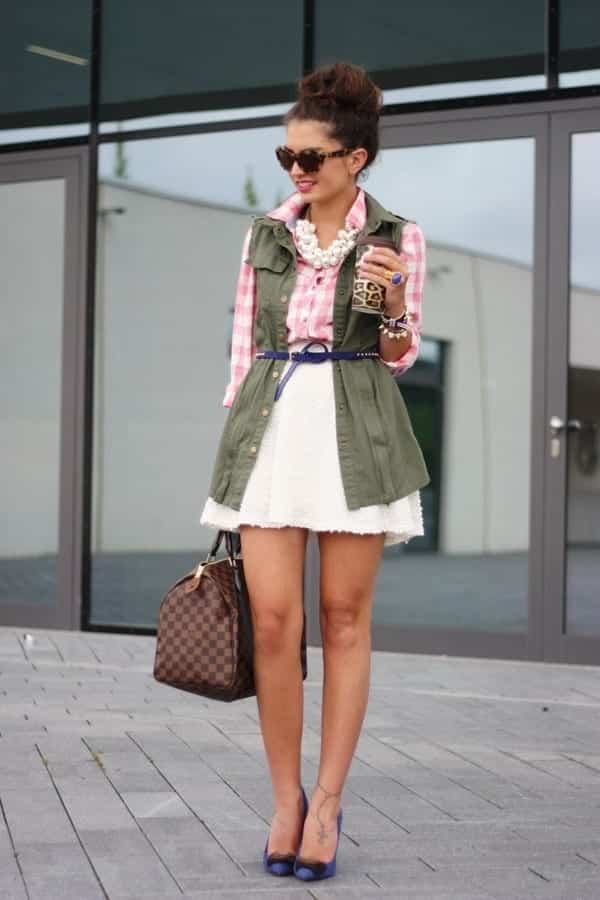 ladies gingham outfits (5)