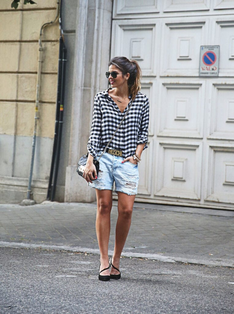 ladies gingham outfits (16)