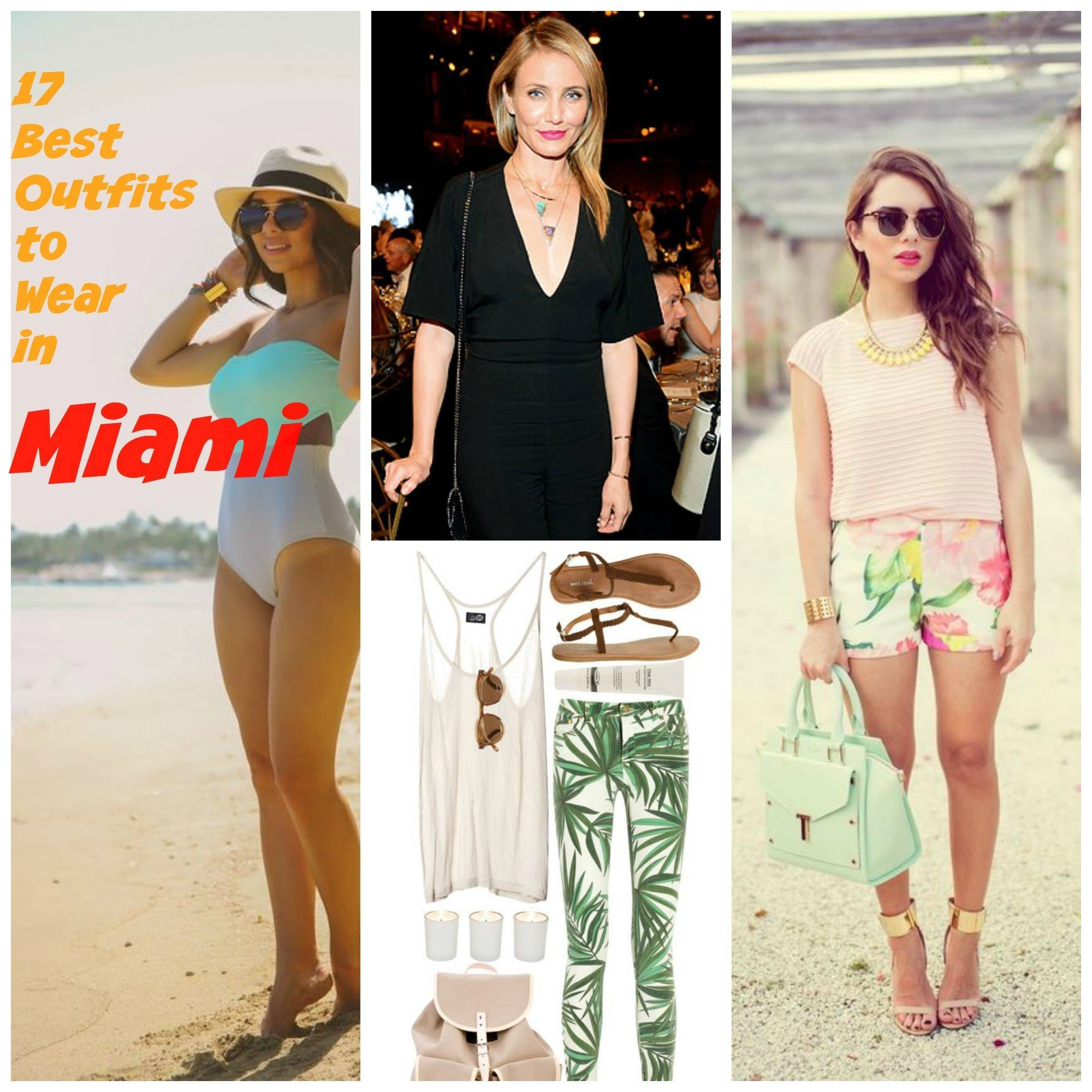 Outfit Ideas for Miami , 17 Ways to Dress up for Miami Trip