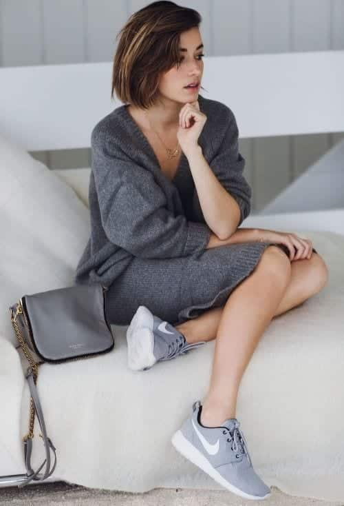 Stylish outfits to wear with Nike shoes (12)
