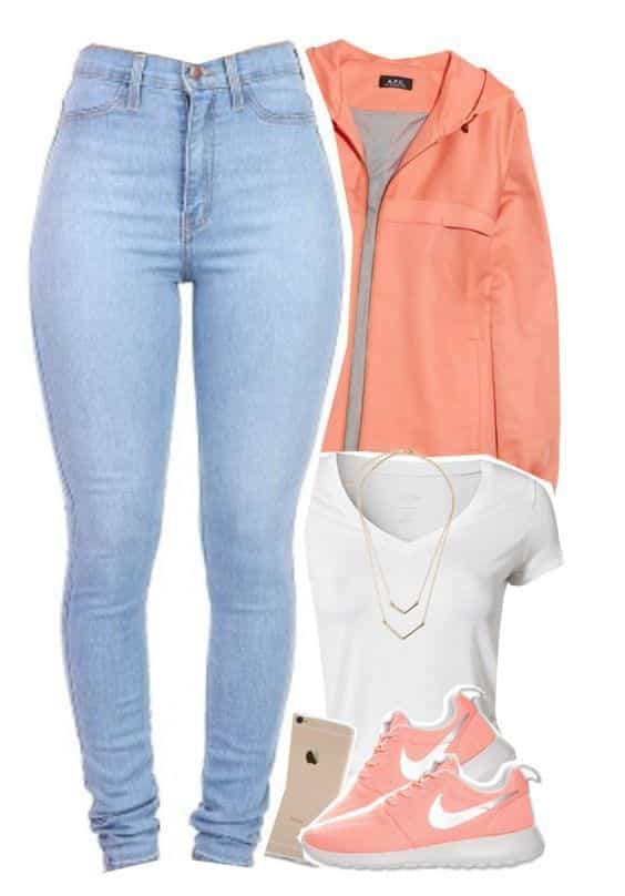Stylish outfits to wear with Nike shoes (11)