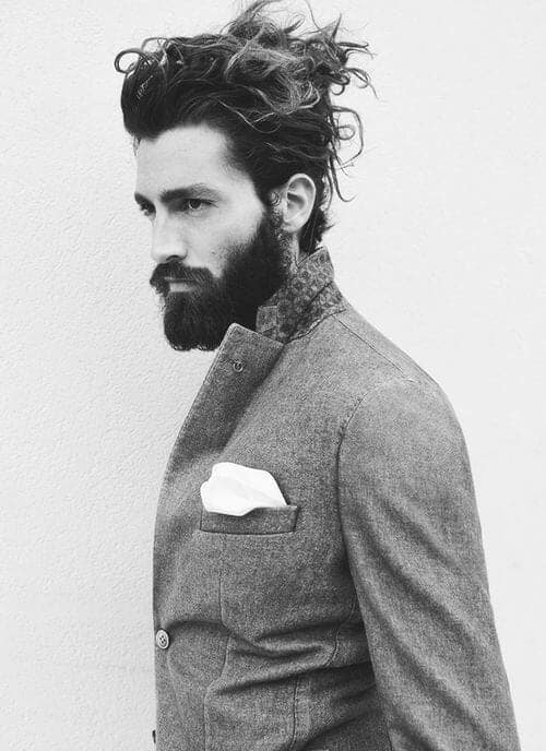 Smart and Cool hairstyles or men with beards (13)