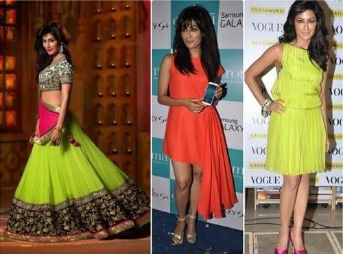 Chittrangada-Singh-Neon-dresses
