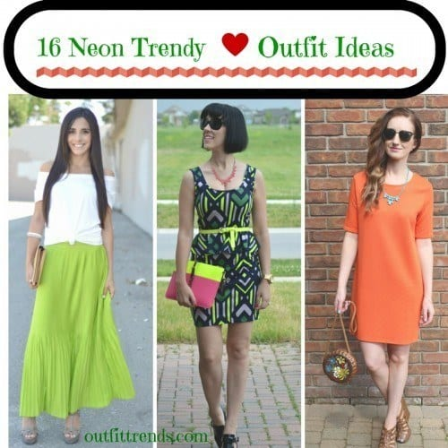 Ideas to wear Neon Fashion (1)