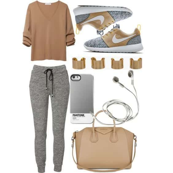 Stylish outfits to wear with Nike shoes (5)