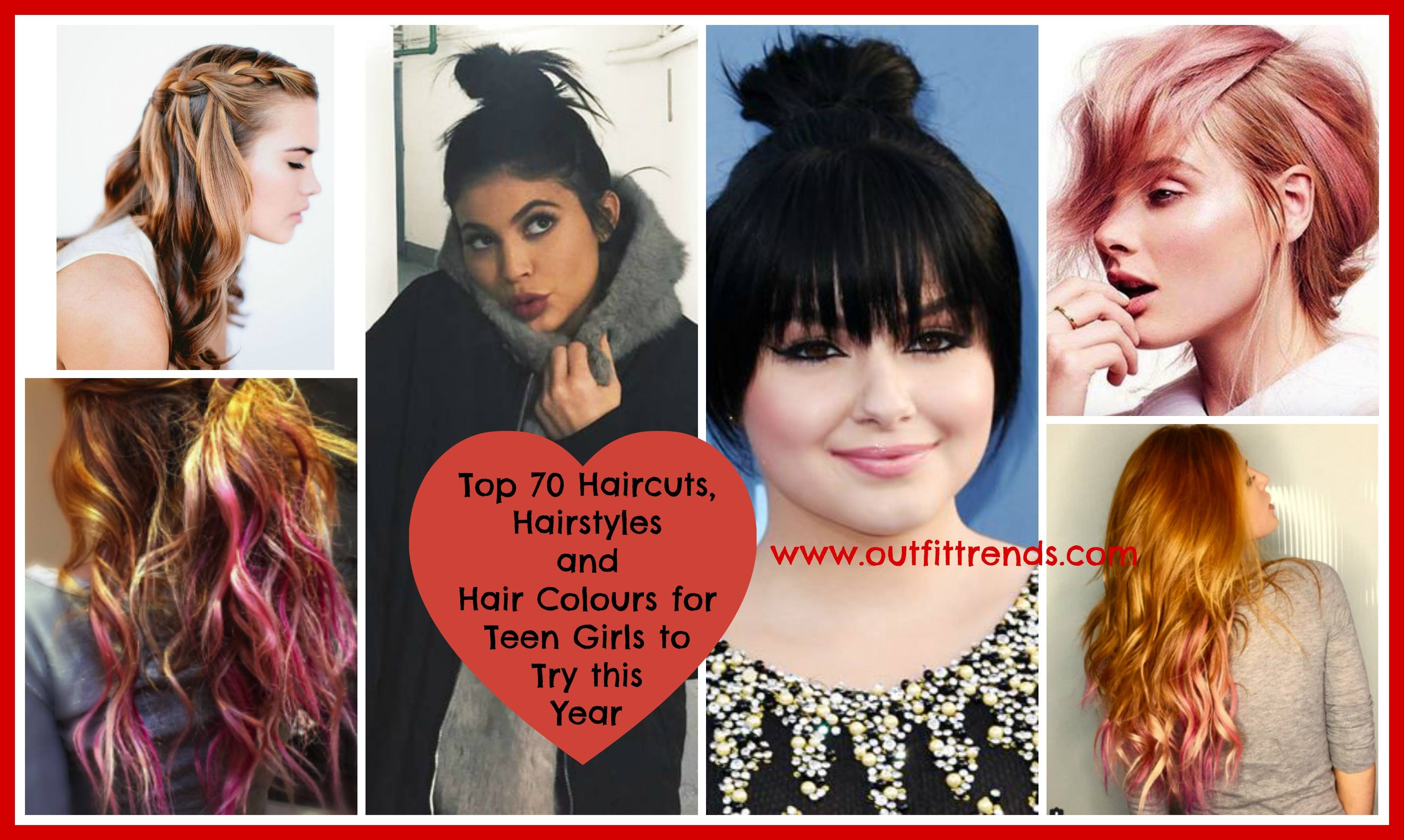 2018 cute hairstyles for teenage girls ! 70 top hair styles