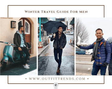 men winter traveling outfits