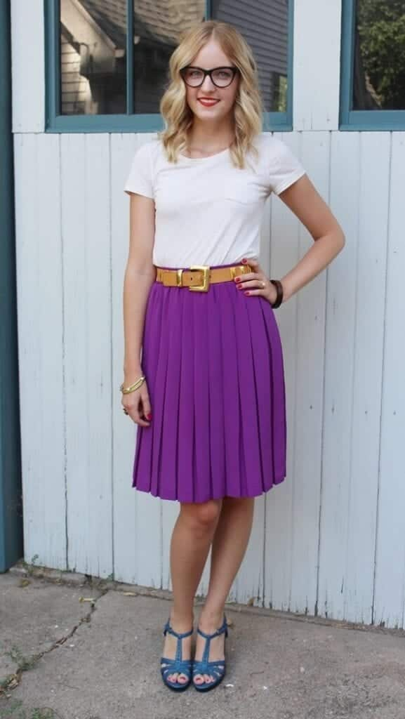 pleated skirts dresses (18)