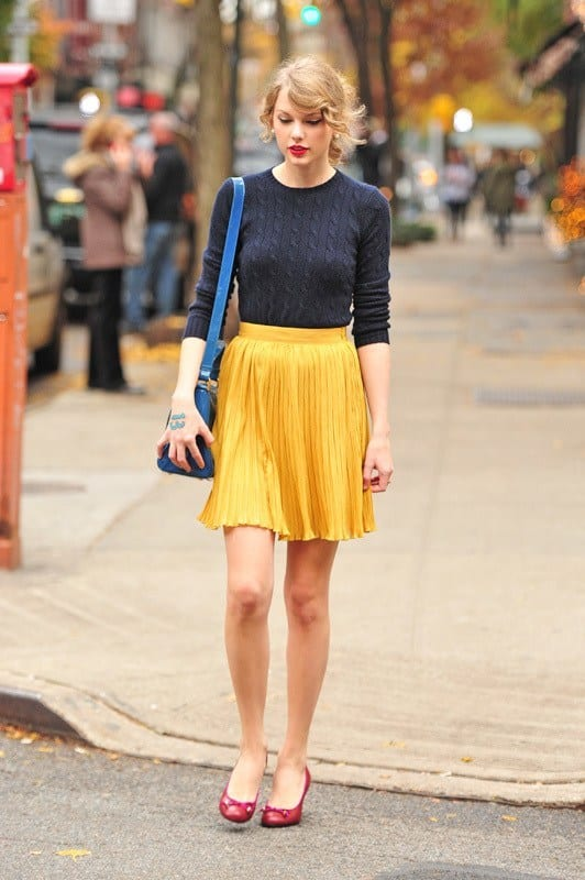 pleated skirts dresses (13)