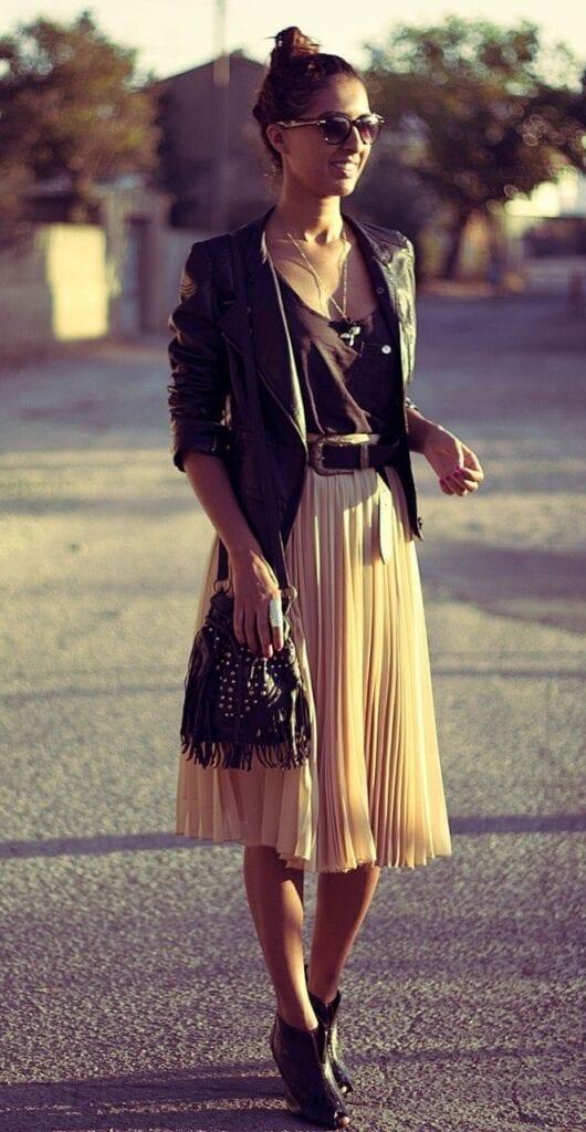 pleated skirts dresses (11)