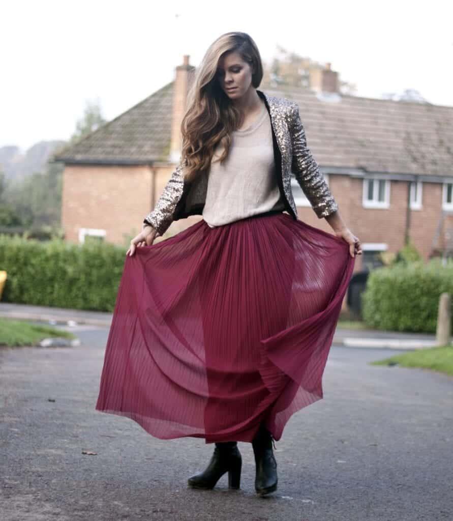pleated skirts dresses (5)