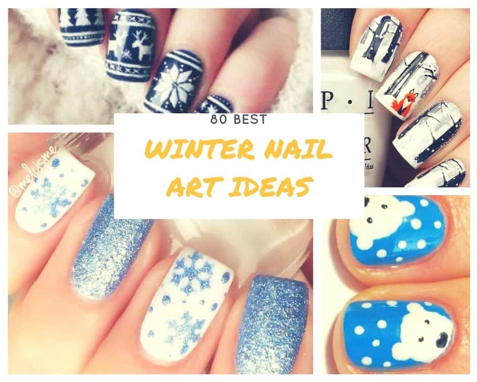 Winter Nail Art Ideas , 80 Best Nail Designs for Winter