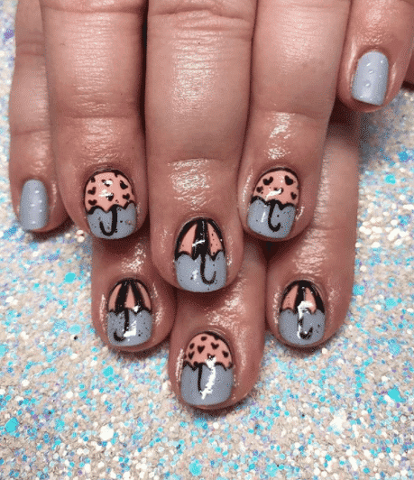 winter nail art ideas & Winter Nail Art Ideas - 80 Best Nail Designs for Winter