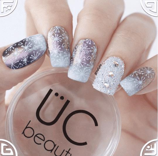 latest winter nail art ideas