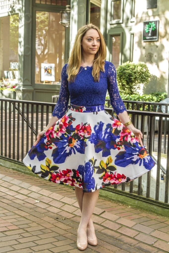 How to style floral skirts this summer (17)