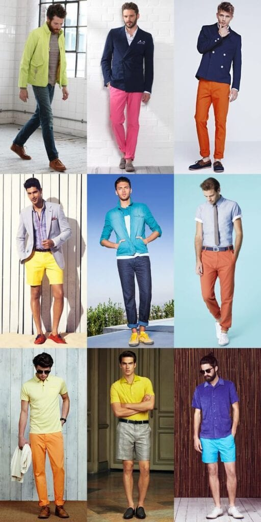 Ideas for Men to wear Neon Outfits (6)