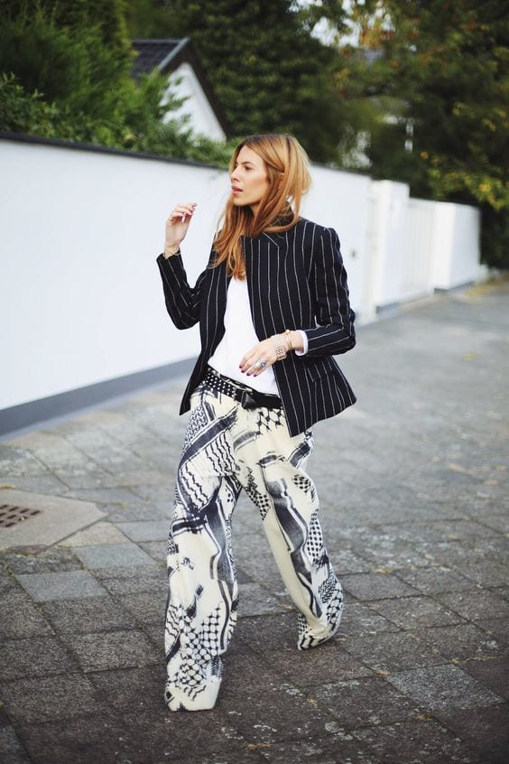 outfits for printed blazers (33)
