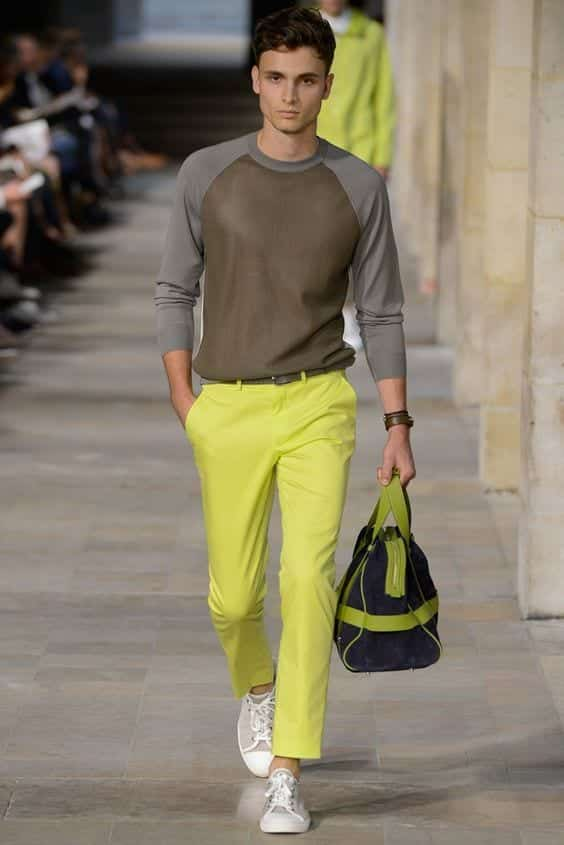 Ideas for Men to wear Neon Outfits (12)
