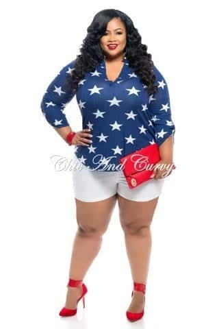 18 Chic 4th of July Outfits For Plus Size Women 2018