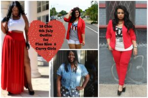 Chic 4th of July Outfits For Plus Size Women
