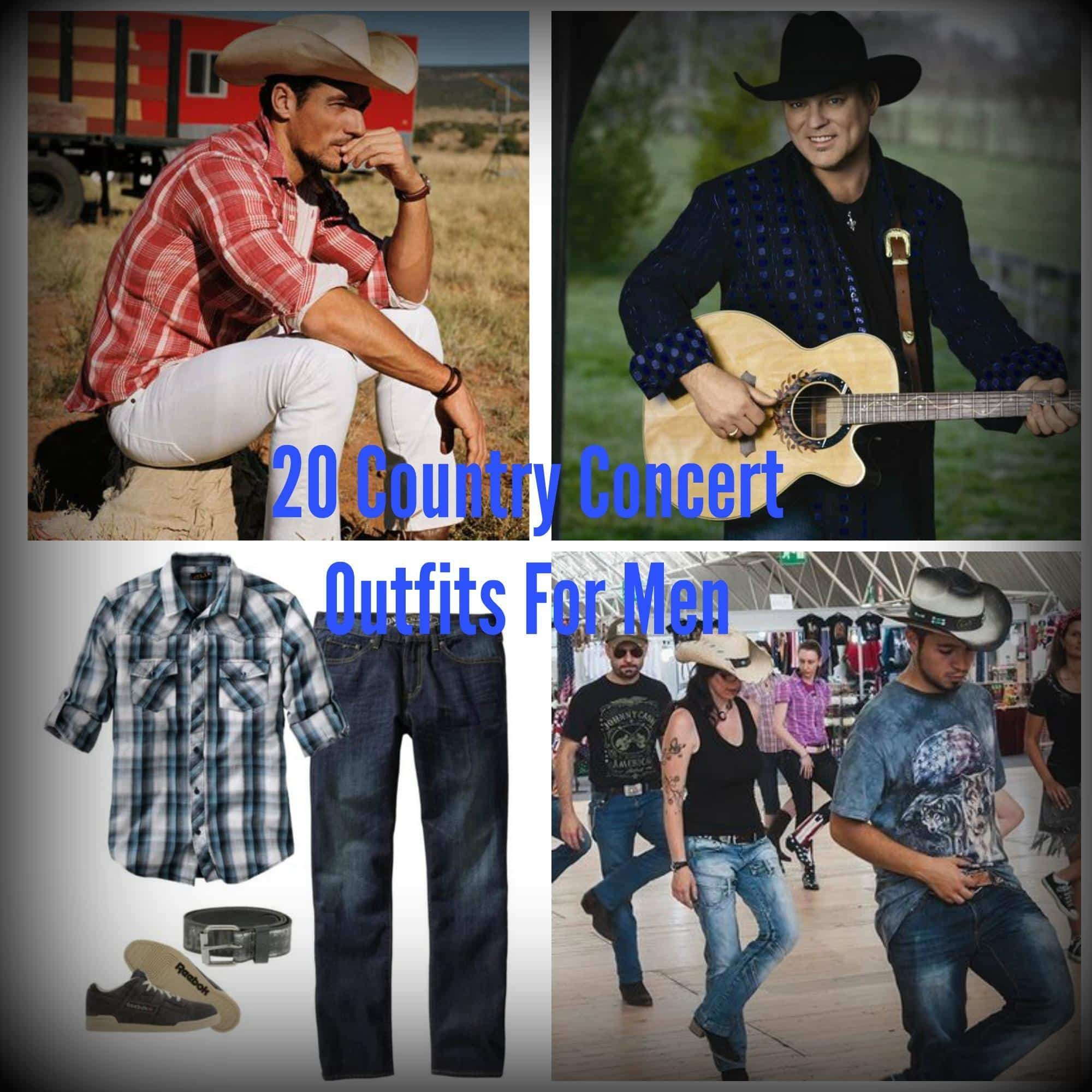 Country First Dance Songs 2016: Country Concert Outfit Ideas For Men