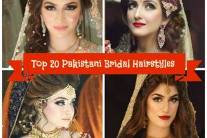 hairstyles for pakistani brides